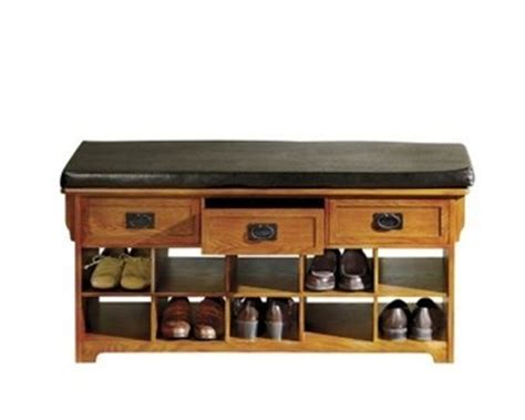 mission style bench with shoe storage pin by eustacia miliusis on catalog spree pin to win