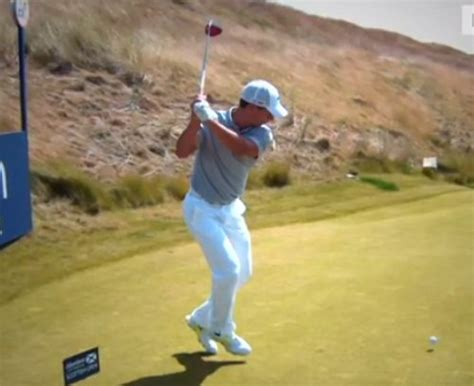 happy gilmore golf swing phil mickelson paul lawrie try happy gilmore golf shot