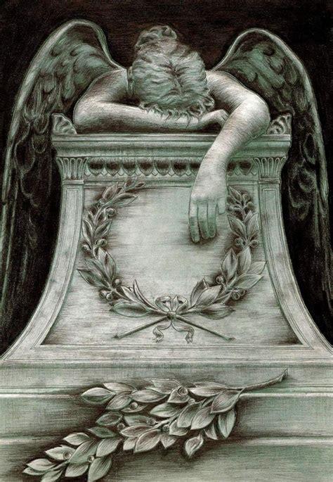 angel of grief tattoo by derdygirl on deviantart angel of grief by p4trycha on deviantart
