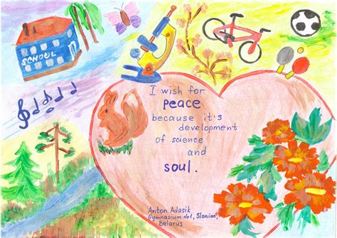 themes for drawing and painting competition arts schools international peace quilt