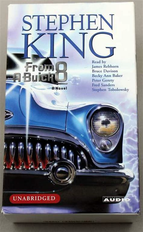 from a buick 8 a novel books car stephen king car book
