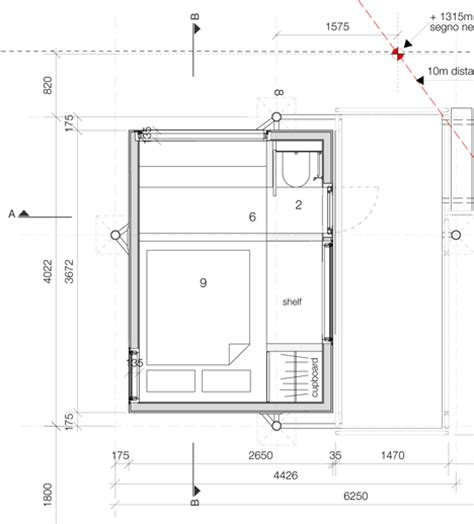 micro compact home floor plan studies living pod
