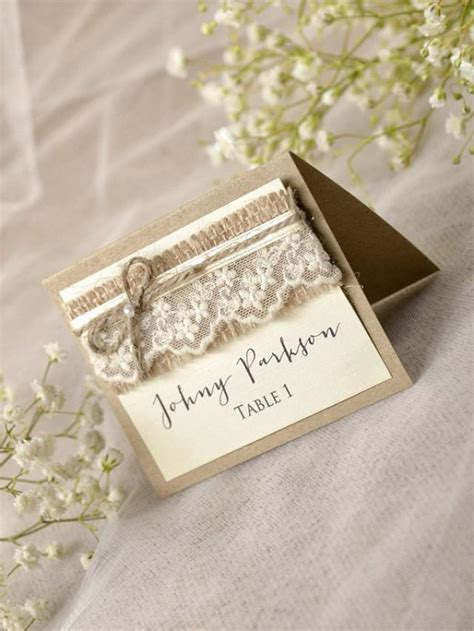 rustic wedding place card template rustic place cards 20 lace place cards grey wedding