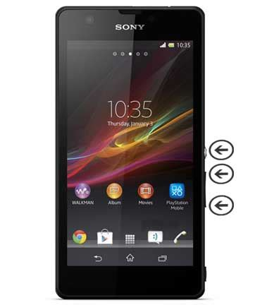 reset samsung xperia how to hard reset sony xperia zr android hard reset