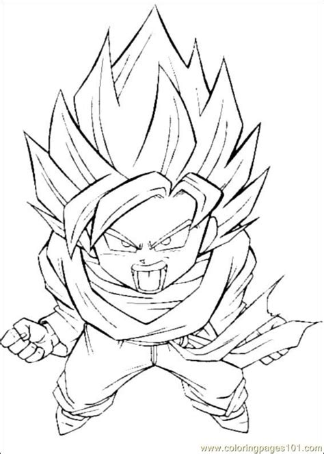 printable coloring pictures of dragon ball z o dragon ball z colouring pages