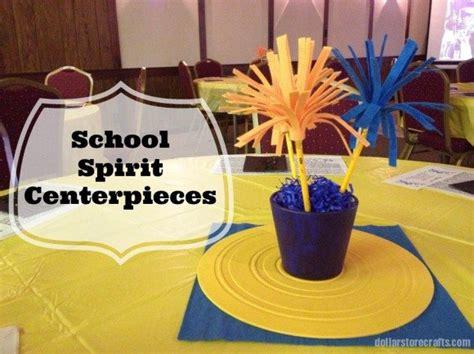 craft project school spirit centerpieces mrs greene