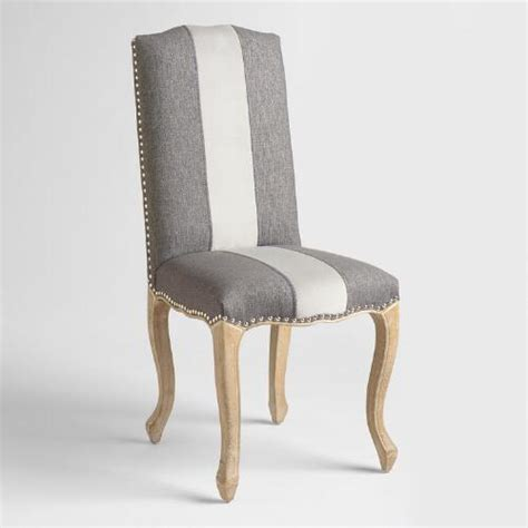world upholstered dining chairs charcoal belmond upholstered dining chairs set of 2