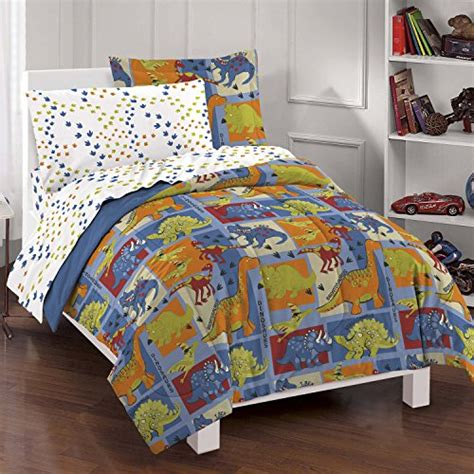 Microfiber Comforter Reviews by Factory Dinosaur Blocks Ultra Soft Microfiber Boys