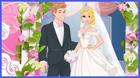 Barbie Wedding Dress Design game   Barbie dress up game