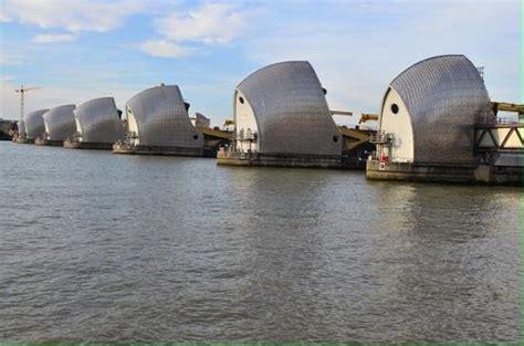 thames river flood barrier thames river flood barrier picture of london england
