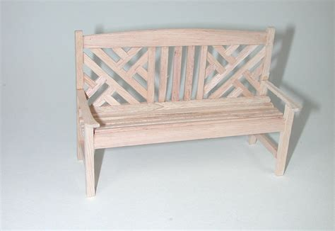 doll bench garden bench for the doll the doll house dollhouse