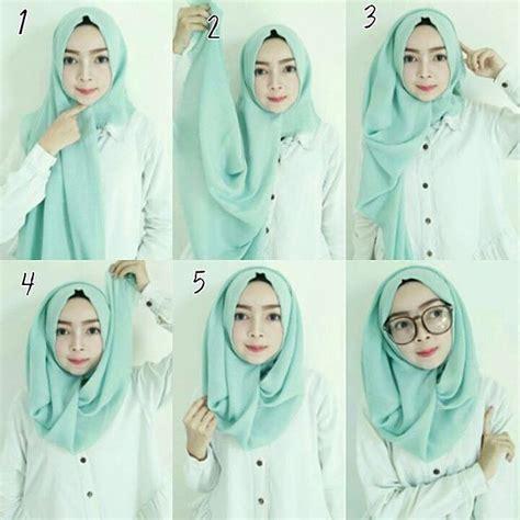 gambar mode style masa kini cara memakai hijab style modern simple terbaru mudation com