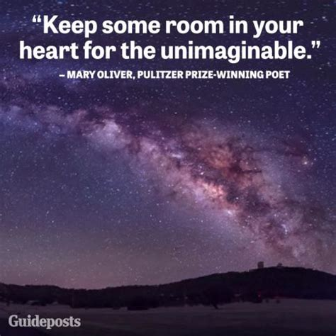 Keep Some Room In Your For The Unimaginable by Quotes For Page 1 Guideposts