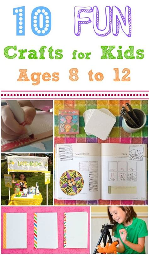 Crafts And Activities For Ages 8 12 Something