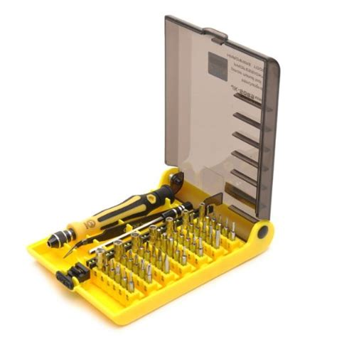 jackly 45 in 1 precision screwdriver cell mobile phone repair tool kit set jk 6089a