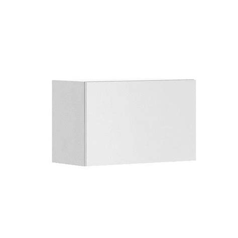 white melamine cabinet doors fabritec alexandria ready to assemble 24 x 15 x 12 5 in wall bridge cabinet in white melamine