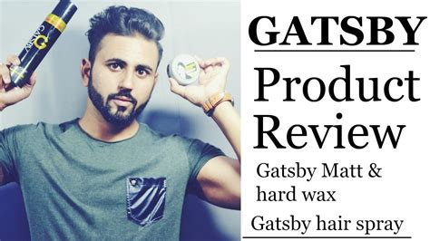 Gatsby Mat And Review by Re Uploaded For Sound Wax Gatsby Hair Wax Hair