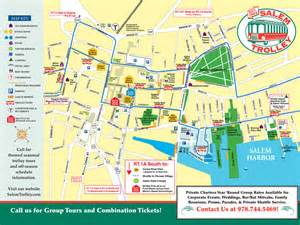 Boston Tram Map by Salem Trolley Tours Of Salem Ma Tales And Tombstones