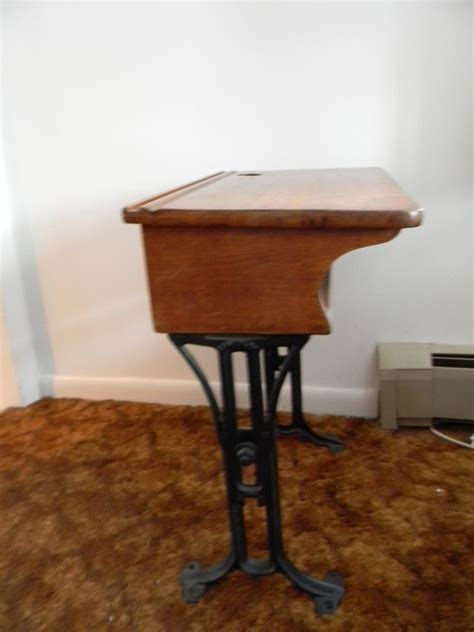 Small College Desk Vintage Antique Small Chandler School Desk School Desks Vintage Antiques And Desks