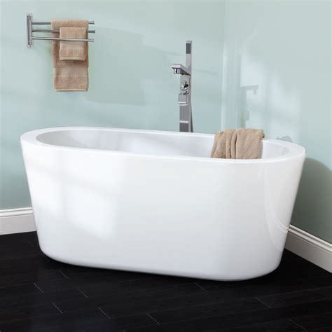 free standing bathtubs 55 quot abescon acrylic freestanding tub bathroom