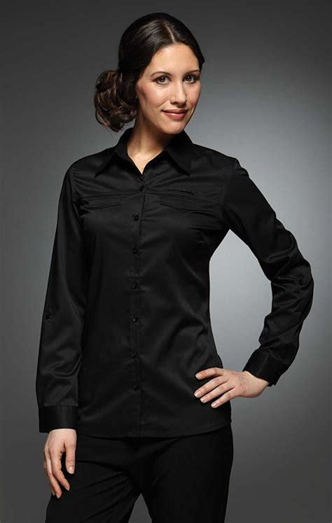 Black Blouse work blouses for black womens blouses black and