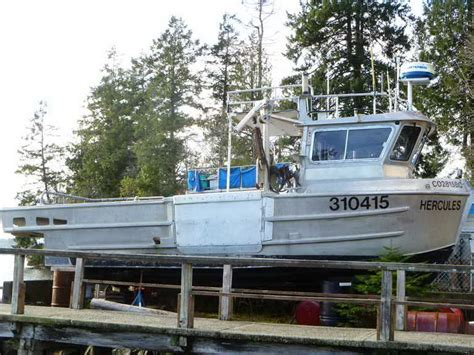 aluminum fishing boats for sale bc used commercial fishing boats for sale in bc used