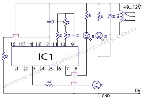 cd4060 timer circuit 1 minute to 2 hours electronic circuits