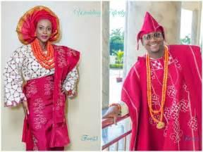 yoruba wears yoruba wedding anu and yomi s vibrant traditional wedding