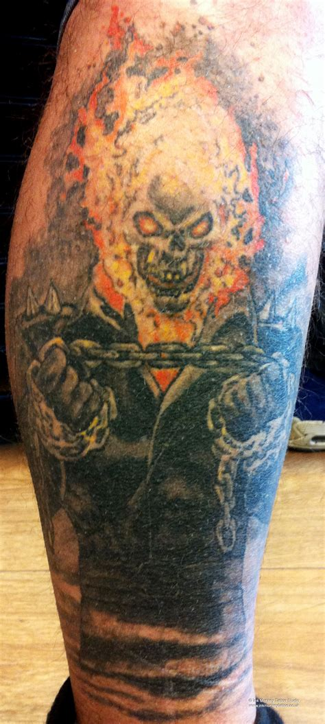 ghost rider tattoo gallery ink monkey studio