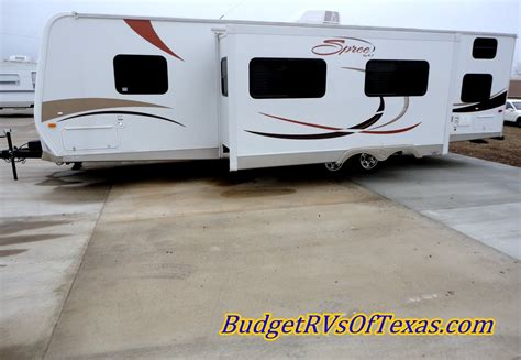 bid on travel bunk house bumper pull by kz travel trailers big bumper