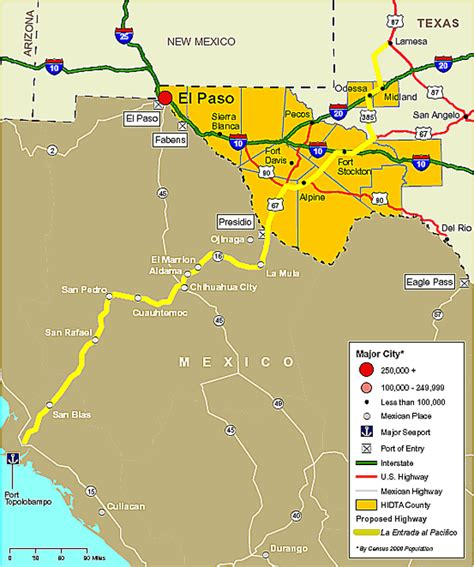 map of west texas area production west texas high intensity trafficking area market analysis 2008