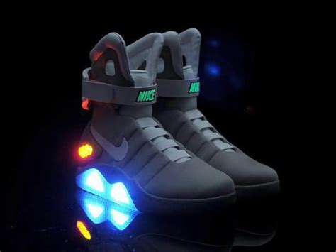 back to the future basketball shoes deal nike mag from back to the future ii marty mcfly
