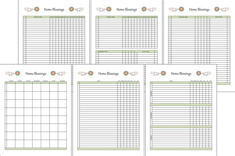 household planner household planner calendars to do lists menu planner