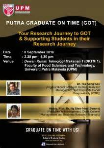 Mba Corporate Governance Upm by Graduate On Time Putra Business School