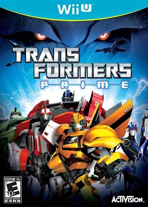 transformers prime nintendo wii  game