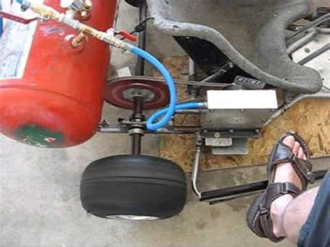 what is air motor the kendall motor compressed air turbine powered go kart