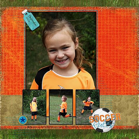 scrapbook layout rules 1000 images about soccer scrapbooking on pinterest