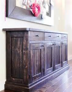 Diy Sideboard Buffet Table Rustic Sideboard Buffet Table Do It Yourself Home