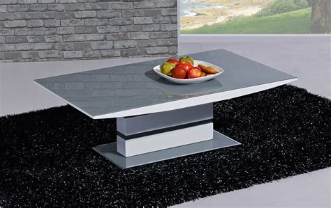 white and grey coffee table white high gloss grey glass coffee table homegenies