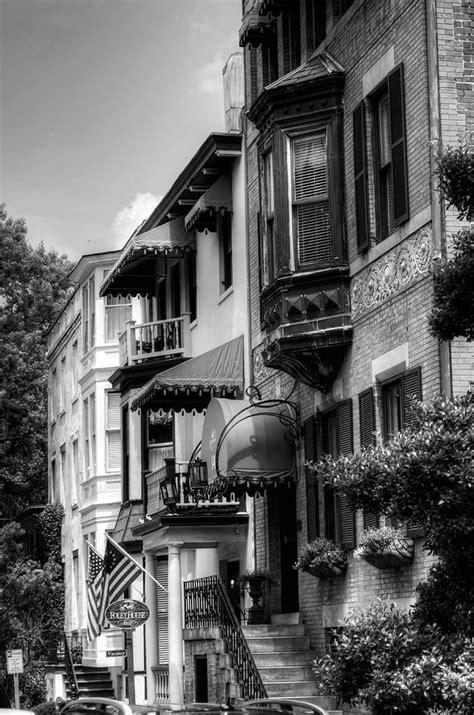foley house inn savannah s foley house inn in black and white photograph by greg and chrystal mimbs