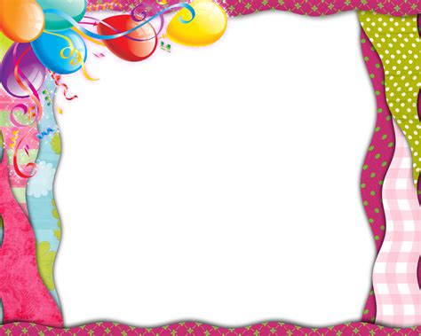birthday frames cliparts co