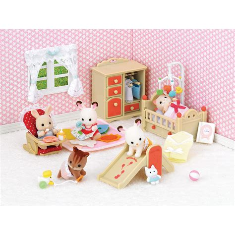 Baby Room Sets by Sylvanian Families Baby Room Set New Ebay