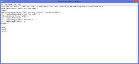 tutorial membuat website dari notepad aplikasi cara membuat web design untuk pemula