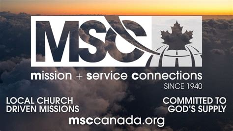 what does msc stand for msc canada