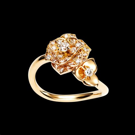 pink gold ring piaget luxury jewellery g34ur700