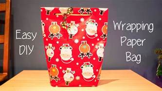 How To Make A Bag Out Of Wrapping Paper - how to make a gift bag out of wrapping paper