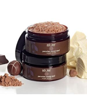 Lstore Ss Organic Kefir Scrub lucce peruvian chocolate azul sugar scrub 283g