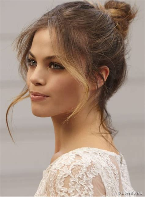 3 buns for any length without added hair 3 messy summer hairstyles for the weekend