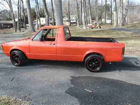 volkswagen rabbit truck 1982 sell used 1982 vw volkswagen rabbit truck in