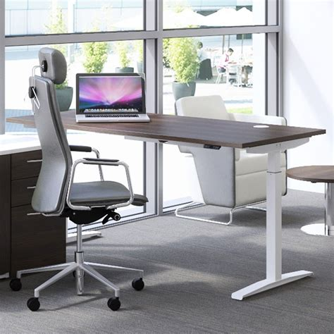Office Standing Desk Hirise Sit Stand Desk Single Standing Desk Height Adjustable Desk